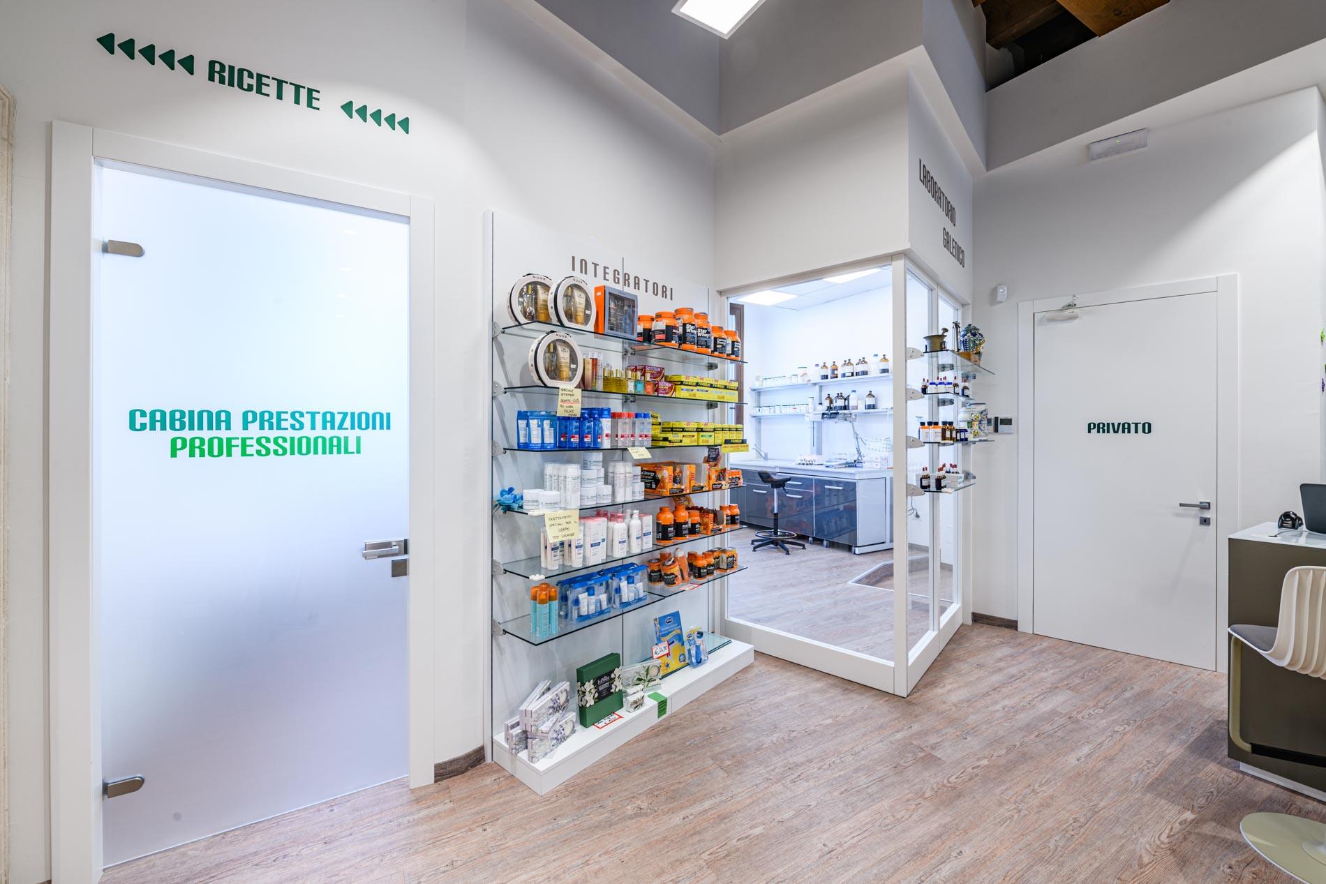 Artupharma – Progettazione interni arredamento farmacie – Dueville 07
